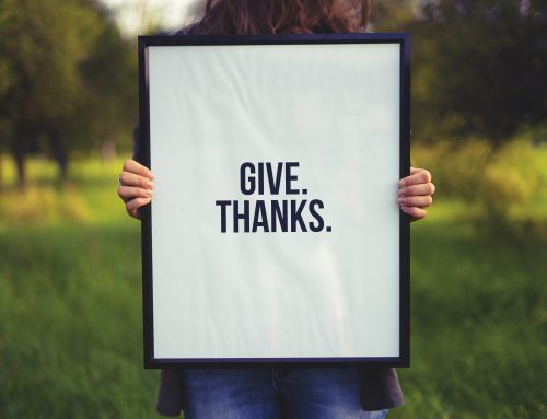 Giving Thanks for Our Community